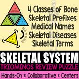 Triominos Puzzle ~SKELETAL SYSTEM~ Biology & Anatomy