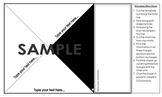 Triorama Presentation and Display Template for All Subjects