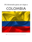 Trip Itinerary: Colombia (Novice Spanish multimodal activity)