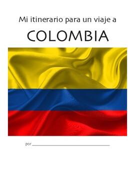 Trip Itinerary: Colombia (Novice Spanish multimodal activity)