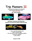 Trip Planners II - Math Role-Playing Game: Travel Cards 21-40