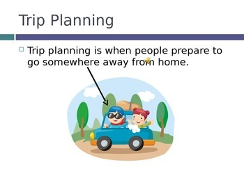 Trip Planning PowerPoint- High School Special Education