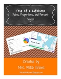 Trip of a Lifetime Math Project   Distance Learning