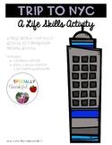 Trip to NYC Life Skills Activity