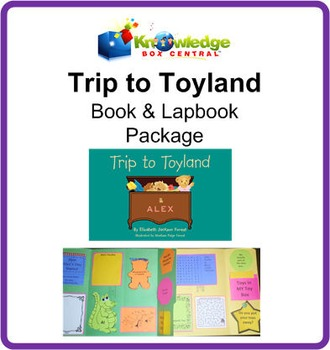 Trip to Toyland!  Book & Lapbook Package