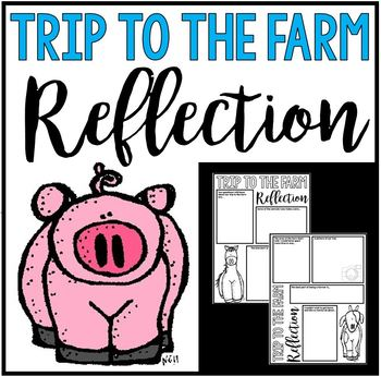 Trip to the Farm Reflection - Poster or Journal Project