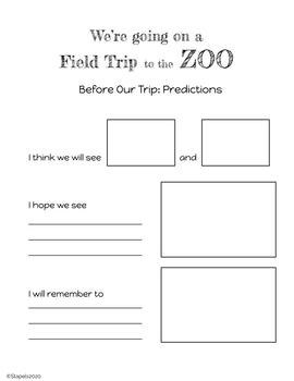 Trip to the Zoo before and after
