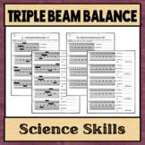 Triple Beam Balance Worksheets