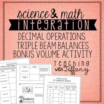 Triple Beam Balance and Decimal Operation Integrated Activity