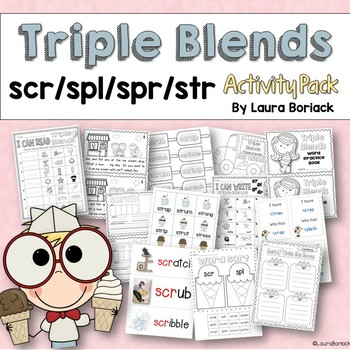 Triple Blends Activity Pack