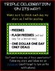 Triple Celebration Announcement! FREEBIES, FLASH FREEBIES, AND DOLLAR DEALS