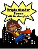 Triple Cluster Power! {scr, spl, spr, str Activities}