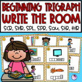 Trigraphs Write the Room SCR, SHR, SPL, SPR, SQU, STR, THR Blends
