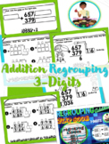 Triple Digit Addition Regrouping