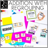 Triple Digit Addition With Regrouping (3-Digit)