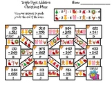 Triple Digit Addition With Regrouping Christmas Math Maze