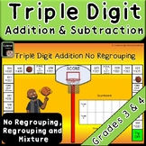Triple Digit Addition and Subtraction Game