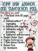 Triple Digit Addition and Subtraction Pack
