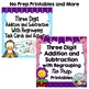 Triple Digit Addition and Subtraction with Regrouping Bundle