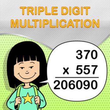 Triple Digit Multiplication Worksheet Maker - Create Infin