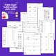 Triple Digit Subtraction Regrouping, No Regrouping, Across Zeros Worksheets