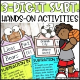 Triple Digit Subtraction with Regrouping Activities & Hands-On Projects
