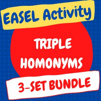 Triple Homonyms Set