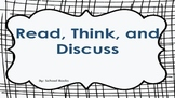 Read, Think, Discuss