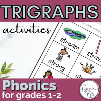 Triple Blends Trigraphs with an assessment