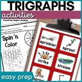 Trigraphs   Triple S Blends Activities