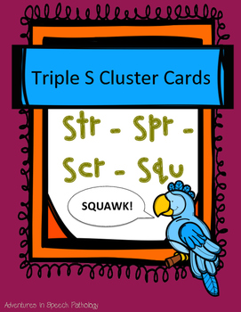 Triple S-Cluster Cards - Freebie
