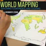 Geography and Mapping Skills: Continents and Oceans