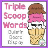 Triple Scoop Words