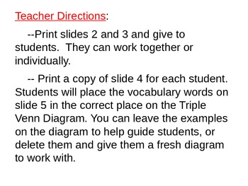 Venn diagram activity teaching resources teachers pay teachers triple venn diagram activity comparing the sun earth and moon ccuart Images