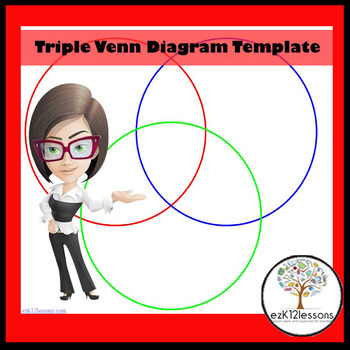 Triple venn diagram template by ezk12lessons teachers pay teachers maxwellsz