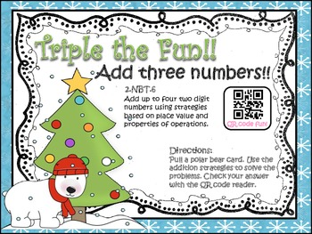 Triple the Fun!! (Add 3 two-digit numbers)