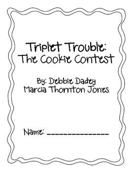 Triplet Trouble Cookie Contest