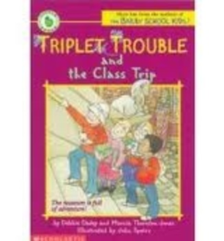 Triplet Trouble and the Class Trip Comprehension Packet