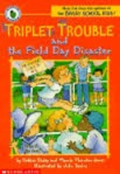 Triplet Trouble and the Field Day Disaster Comprehension Packet