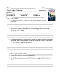 Tripods- The White Mountains Ch. 7 Comprehension