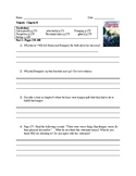 Tripods- The White Mountains Ch. 8 Comprehension