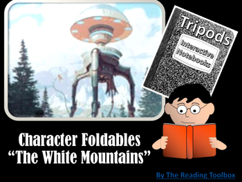"""Tripods """"The White Mountains"""" Character Foldables for Interactive Notebooks"""