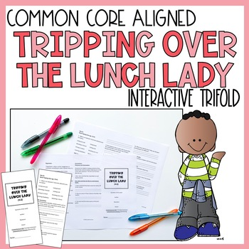 Tripping Over the Lunch Lady Trifold (Reading Street 2011