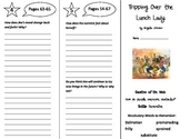 Tripping Over the Lunch Lady Trifold - Reading Street 5th Grade Unit 4 Week 2