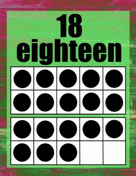 Trippy Ten Frame Poster