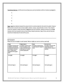 Triptych Skills Evaluation