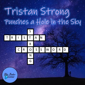 Tristan Strong Punches a Hole in the Sky crossword puzzle