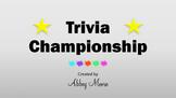 Trivia Championship Template