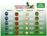 Trivia Christmas Template - Jeopardy-Like Review Game