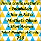 Trivia Dungeon Complete 6th Grade Expansion Pack